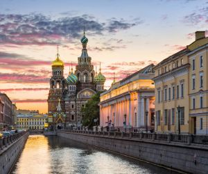 Cathedral of Our Saviour on Spilled Blood, St Petersburg